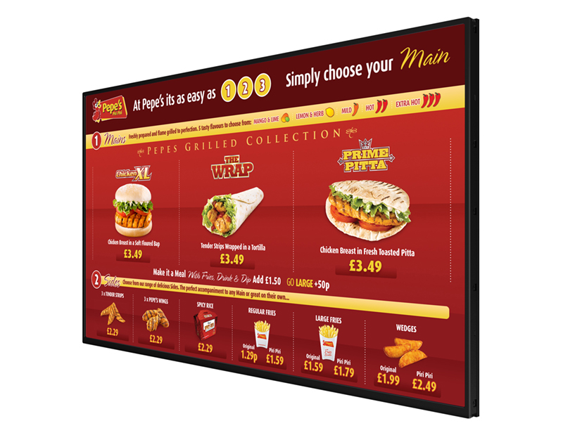 JustTouch Digital Menu Board