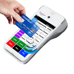 JustTouch Walkabout Contactless Payment